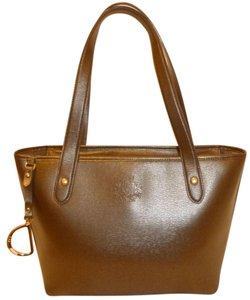 Ralph Lauren Refurbished X-lg Leather Lined Tote in Brown
