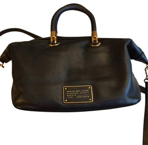 Marc by Marc Jacobs Nwt Leather Satchel in Black
