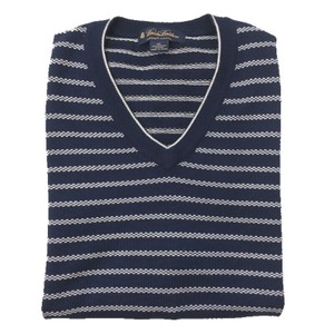 Brooks Brothers V-neck Cotton Vest Spring Holiday Sweater