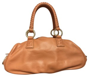 Antonio Melani Designer Satchel in Tan/Camel