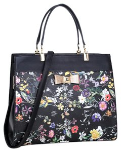 bb53ba554c38 Anais Gvani Bags Hippie Boho The Treasured Hippie Large Handbags Affordable  Satchel in BLACK FLOWER