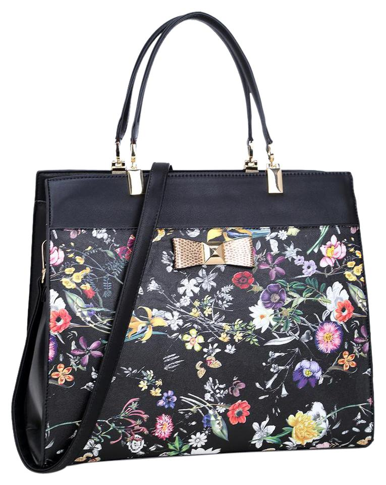 Anais Gvani Bags Hippie Boho The Treasured Hippie Large Handbags Affordable  Satchel in BLACK FLOWER Image ...
