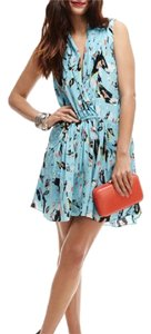 Rebecca Minkoff short dress Blue on Tradesy