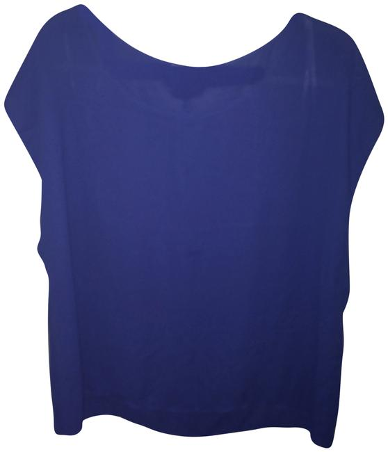 Preload https://item5.tradesy.com/images/forever-21-blue-blouse-size-16-xl-plus-0x-2092584-0-1.jpg?width=400&height=650