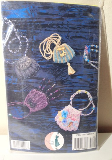 Other New Sealed Craft Kit Bead Knitted Pendant Bags- Instructions-Needles & Beads