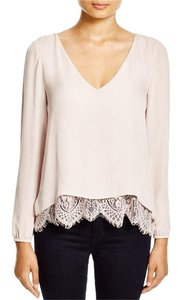 Parker Lace Rosedale Top white