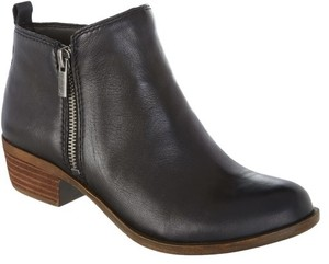 Lucky Brand Chelsea Leather Black Glove Nappa Boots
