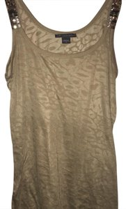 A|X Armani Exchange Top tan Gold
