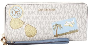 MICHAEL Michael Kors ILLUSTRATED FLY AWAY CONTINENTAL WALLET