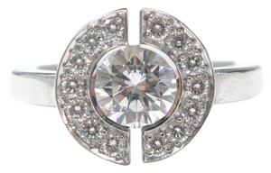 Chanel Chanel 18KT Round Cut Diamond Engagement Jewelry Ring Style #J1501