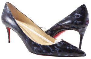 Christian Louboutin Decollete 70mm Navy Louboutin Heels blue Pumps