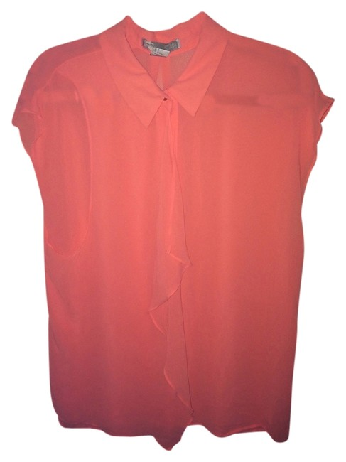 Forever 21 Top Coral