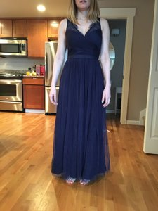 BHLDN Navy Fleur Dress Dress