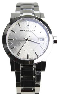 Burberry Burberry Silvertone Watch