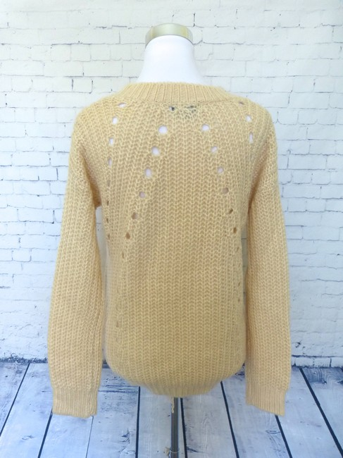Pollini Crochet Crewneck Sweater