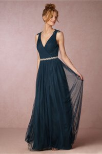BHLDN Navy Pippa Dress