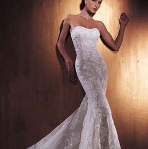 New Never Worn Lace Wedding Gown Wedding Dress
