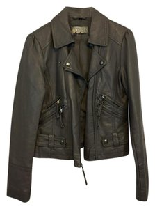 Guess Motorcycle Leather Motorcycle Jacket