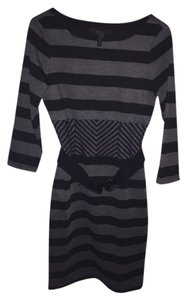 BCBGMAXAZRIA short dress Black And Gray on Tradesy