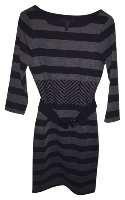 Preload https://item1.tradesy.com/images/bcbgmaxazria-black-and-gray-short-casual-dress-size-8-m-2092680-0-0.jpg?width=400&height=650