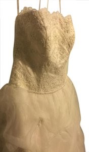 Oleg Cassini Cv189champagne Ven 298 Wedding Dress