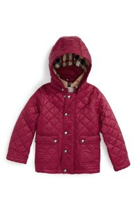 Burberry Jamie Quilted Kids Fritillary Pink Jacket