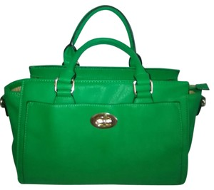 Charming Charlie Satchel in Green