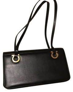 Salvatore Ferragamo Classic Leather Ferragamo Shoulder Bag