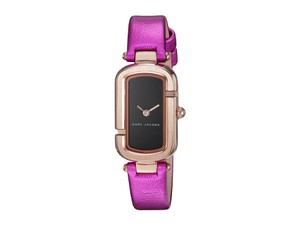 Marc Jacobs Marc Jacobs Women's Rose Gold-Tone and Fuchsia Leather MJ1502