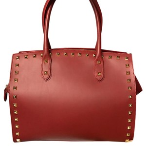Alberta Di Canio Satchel in red