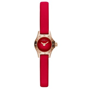 Marc Jacobs Marc Jacobs Women's Blade Red Leather Watch MBM1343