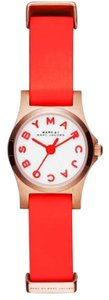 Marc Jacobs Marc Jacobs Women's Henry Mini Red Leather Watch MBM1315