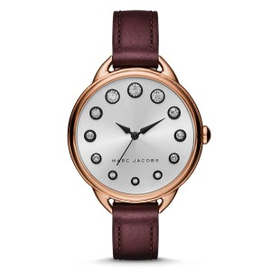 Marc Jacobs Marc Jacobs Women's Rose Gold-Tone Three-Hand Watch MJ1478