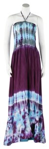 Plum Maxi Dress by Other Hippie Boho The Treasured Hippie Handmade Organic