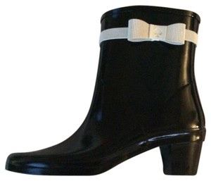 Kate Spade black and cream Boots