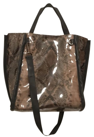 Preload https://img-static.tradesy.com/item/20927710/french-connection-vegan-python-snake-print-black-taupe-faux-leather-tote-0-1-540-540.jpg