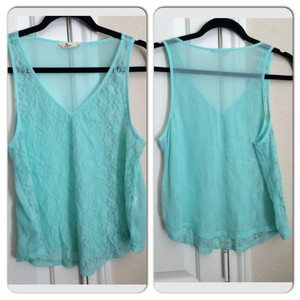 Hollister Top Turquoise