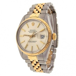 Rolex Rolex Datejust 16013 Stainless Steel 18k Yellow Gold Jubilee Automatic