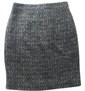 J.Crew Wool Pencil Size 0 Mini Skirt Green