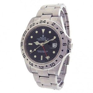 Rolex Rolex Explorer II 16570 Stainless Steel Oyster Automatic Black Watch