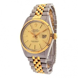 Rolex Rolex Datejust 16013 Stainless Steel 18k Yellow Gold Automatic Jubilee