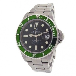 Rolex Rolex Submariner 16610 Stainless Steel Oyster Automatic Green Black