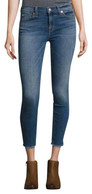 Preload https://img-static.tradesy.com/item/20927848/7-for-all-mankind-blue-medium-wash-gwenevere-ankle-frayed-skinny-jeans-size-24-0-xs-0-1-650-650.jpg