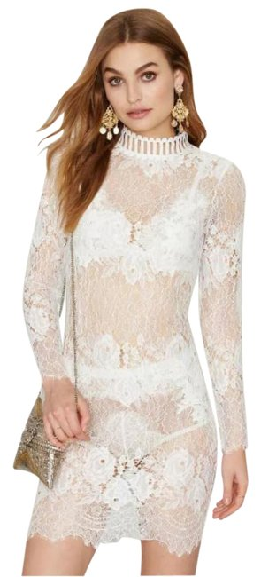 Preload https://img-static.tradesy.com/item/20927852/nasty-gal-white-sheer-lace-short-night-out-dress-size-12-l-0-1-650-650.jpg