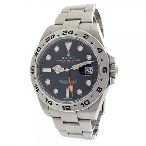 Rolex Rolex Explorer II 216570 Stainless Steel Oyster Automatic Black Men's