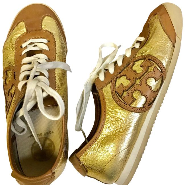 Item - Gold Royal Tan Summer Sale / Murphey Sneakers Size US 7 Regular (M, B)