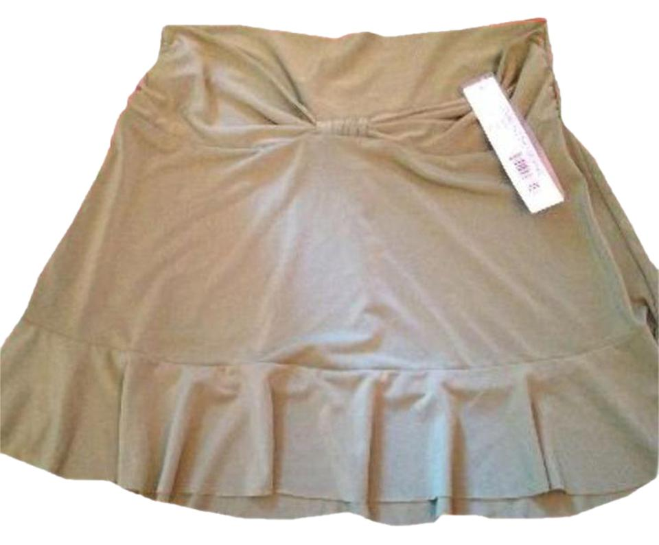 bde7aa3015 Robin Piccone Robin Piccone Women s Olive Green Swim Skirt Swimsuit Cover  Up XS ...