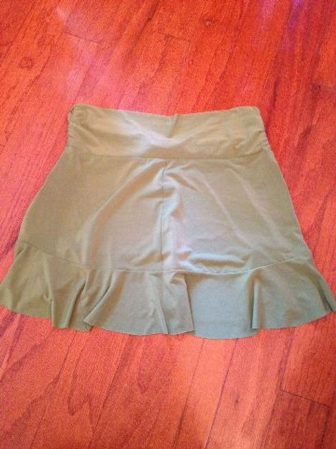 Robin Piccone Robin Piccone Women's Olive Green Swim Skirt Swimsuit Cover Up XS Image 1