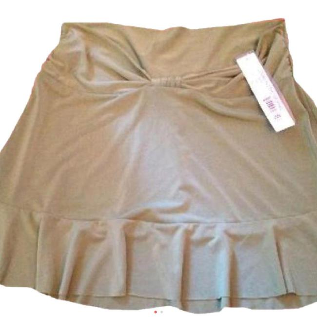Robin Piccone Robin Piccone Women's Olive Green Swim Skirt Swimsuit Cover Up XS Image 2