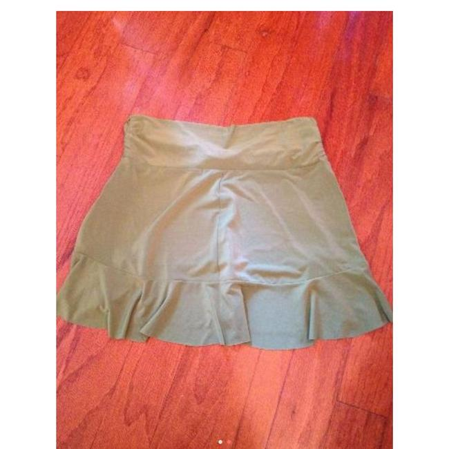Robin Piccone Robin Piccone Women's Olive Green Swim Skirt Swimsuit Cover Up XS Image 3